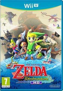Wii U The Legend Of Zelda: Wind Waker Hd (Original Cover)