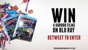 Win Horror Films on Blu-Ray