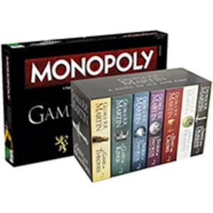 A Song Of Ice And Fire 7 Book Set  Game Of Thrones Monopoly @