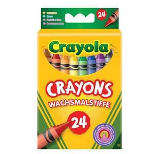 Crayola 24 Crayons @ b&m