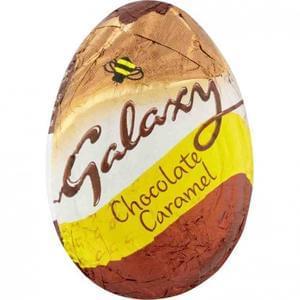 GALAXY CARAMEL CHOCOLATE EGG 38G @ £Poundstrecher