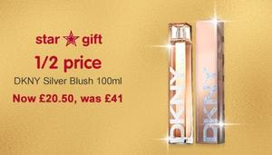 DKNY Silver Blush now HALF PRICE at Boots!