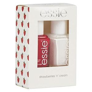 Essie Strawberries-n-Cream Nail Polish Kit - Pack of 2