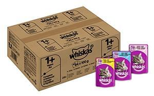 Whiskas Wet Cat Food 84 x 100 g Pouch - subscribe and save price