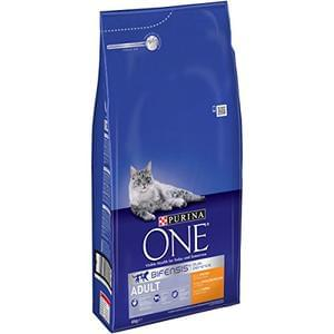 Purina ONE Adult Dry Cat Food, Chicken and Whole Grains, 6kg