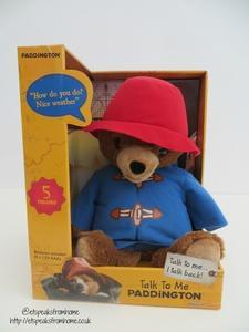 Win a Talk to me Paddington Bear