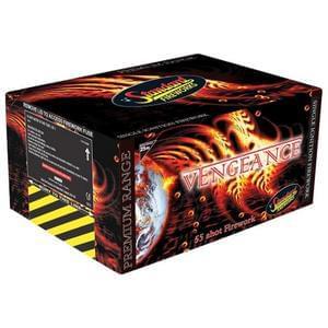 Vengeance 55 Shot Firework