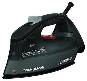 Morphy Richards 300254 Breeze Steam Iron, 2600 W - Black / Red