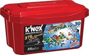 K'NEX Deluxe Building Set, 375 Pieces