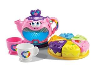 Musical Rainbow Tea Party Set