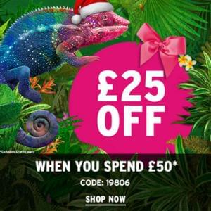 £25 off £50 spend at The Body Shop!