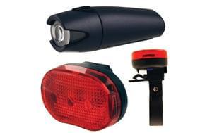 Discount Smart 4 Lux Front 3 LED Rear Light Set Save £16.99 @ Planet X  Bikes