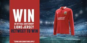 Win an Official Canterbury Lions Jersey