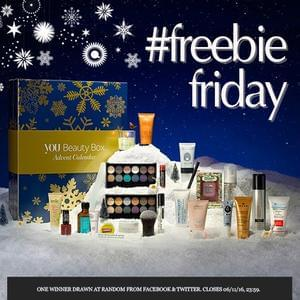 Win a You Beauty Advent Calendar 2016 (Twitter/Facebook)