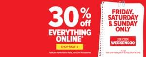 Euro Car Parts Sale 30% Off Everything Online