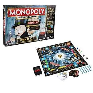 GET 25% DISCOUNT & FREE DELIVERY on Monopoly Ultimate Banking Game at Amazon