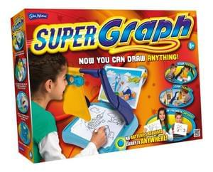 Supergraph. Draw anything, anywhere. FABULOUS BARGAIN. LESS THAN 1/2 PRICE !!