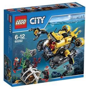 LEGO City Deep Sea Submarine 60092