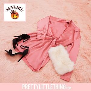Win a Shirt Dress, Heels and Faux Fur Chain Shoulder Bag