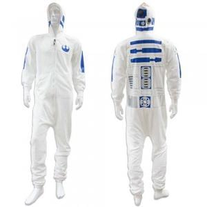 Star Wars White Adult Mens R2D2 Jumpsuit Only £14 Delivered