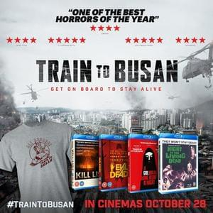Train To Busan T-Shirt & Blu-Ray Bundle