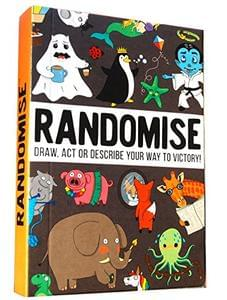 Randomise Game:  Its Hilarious! Good for Ages 8 to 99.