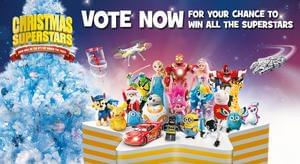 Win all of the Superstar Toys this Christmas @ Toys R Us