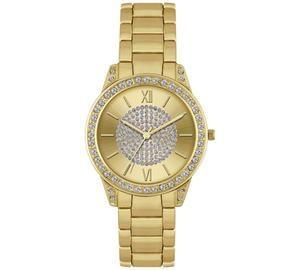 Discount Spirit Ladies' Gold Glitter Dial Gold Bracelet Watch 1/2 Price @ Argos