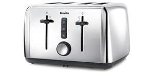 Discount Breville 4 Slice Toaster - Stainless Steel Half Price @ Argos