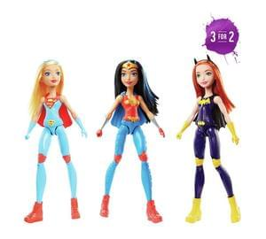Discount DC Super Hero Girls Training Action Doll Save £4.99 & 3for2 @ Argos