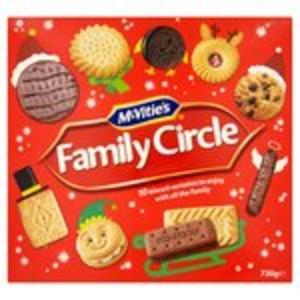 Mcvities Family Circle Biscuits 720g Half Price @ Morrisons