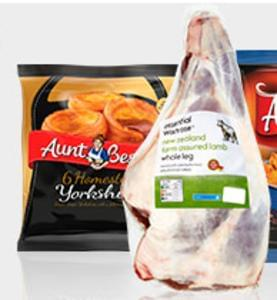 Waitrose Deal: Buy a leg of lamb and get 3 Aunt Bessie sides FREE