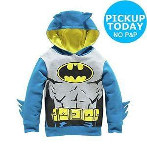 Batman Novelty Hoodie - 5-6 Years