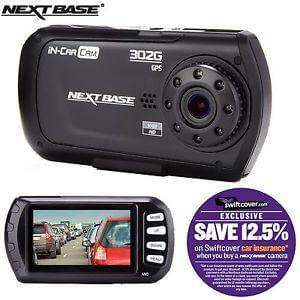 """Nextbase 302G Deluxe Car Dash Dashboard Video Camera 2.7"""""""