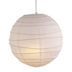 Cheap Lamp Shade at Homebase - £1.99 White Paper Shade