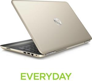 "HP Pavilion 15.6"" Laptop with the latest 7th Gen Intel Core i5 Processor - Gold"