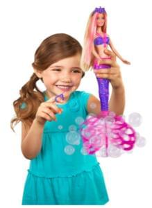 HALF PRICE: Barbie Bubble-Tastic Mermaid Doll