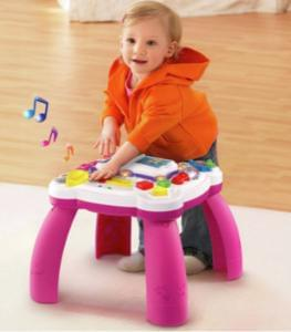 HALF TERM HALF PRICE! LeapFrog Learn and Groove Table - Pink