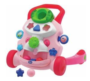 HALF TERM HALF PRICE: Chicco Baby Steps Activity Walker - Pink