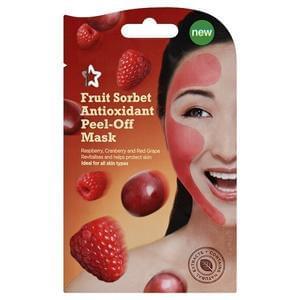 3 x Superdrug Fruit Sorbet Peel Off Face Masks for 78p Delivered!