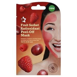 3 x Superdrug Fruit Sorbet Peel Off Face Masks for 78p Delivered!
