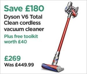 super cheap price dyson v6 total clean cordless vacuum. Black Bedroom Furniture Sets. Home Design Ideas