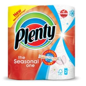 Plenty Kitchen Rolls The Seasonal One Print 2 Rolls