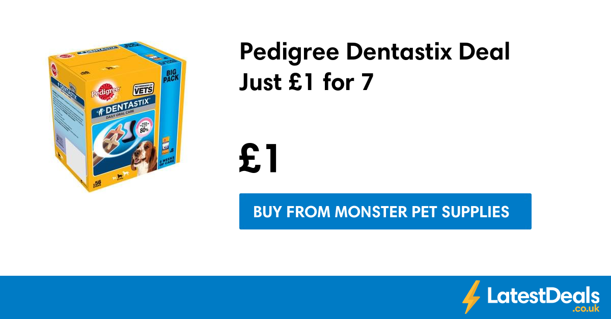 Top Monster Pet Supplies voucher codes: Make use of this astounding deal to obtain an excellent quality of reflective range at a discount up to 33% from Monster Pet Supplies. Check this Monster Pet Supplies voucher codes to enjoy super savings!