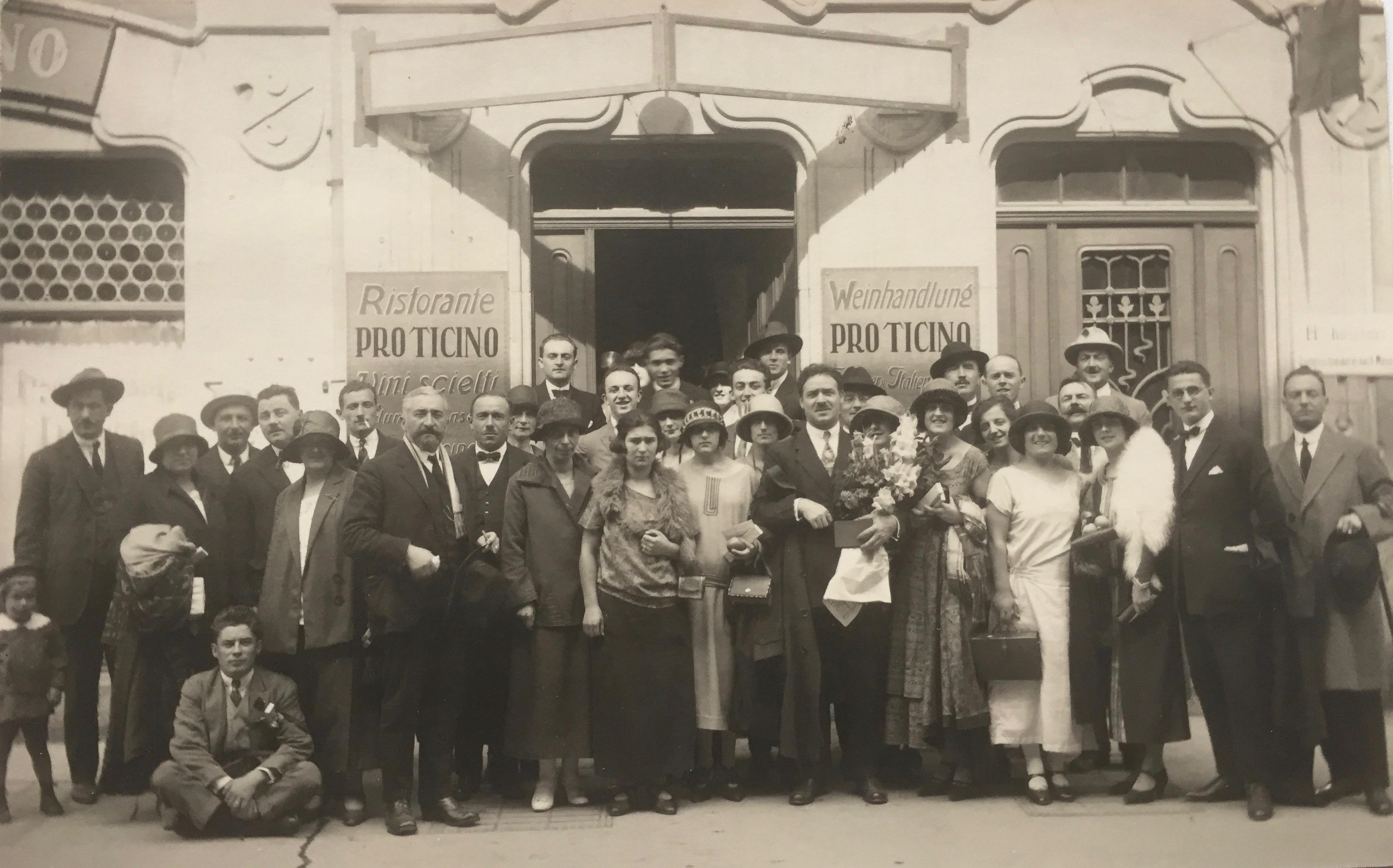 Pro Ticino a Zurigo 1939 ca