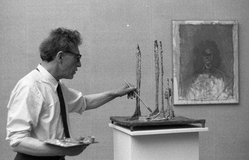 Necrologio per Alberto Giacometti