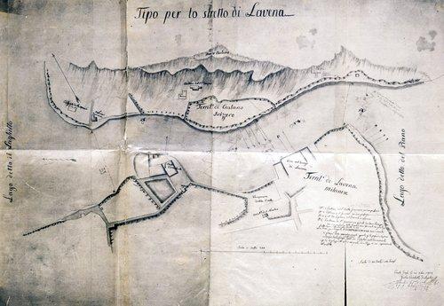 Lo stretto di Lavena