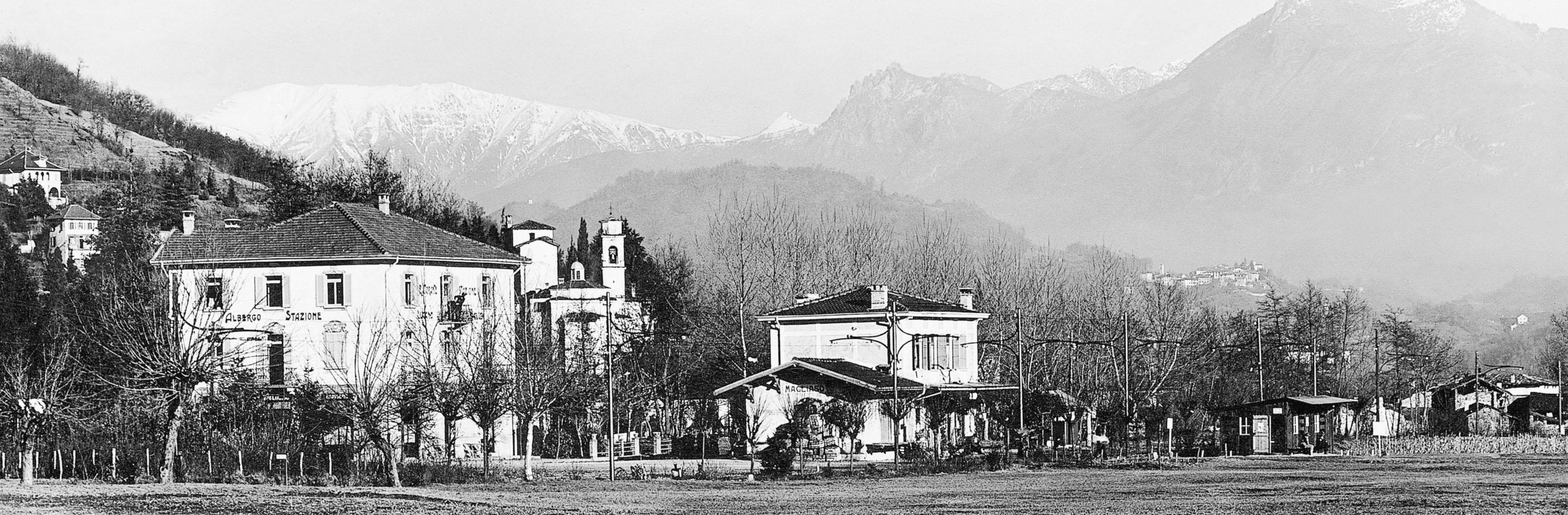 Magliaso nei primi anni del '900