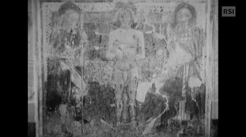 Gli affreschi di Rossura
