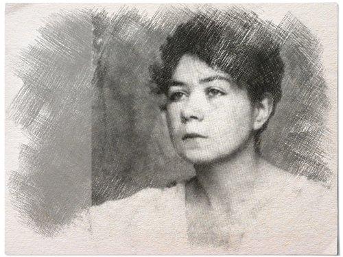 Ritratto di Alfonsina Storni
